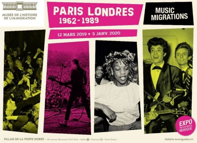 Exposition Paris-Londres. Music Migrations