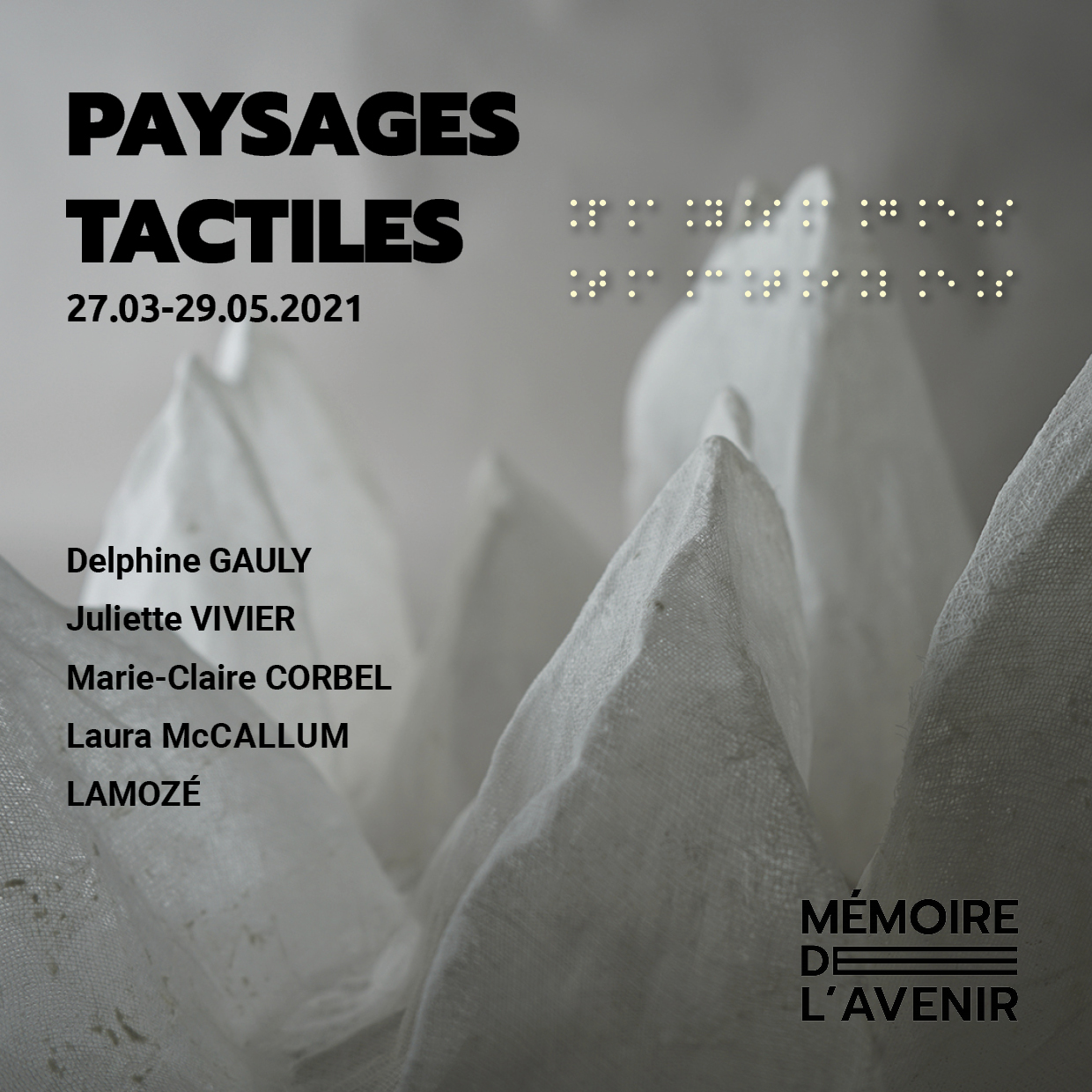 Exposition Paysages Tactiles